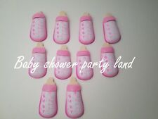 10 Baby Shower Pink Foam Bottles Party Decorations its a Girl Favors Prizes Gift