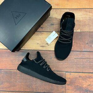 Adidas Men's Pharell Williams Triple Black Tennis Shoes GX2484