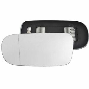 Passenger Side wide angle heated wing mirror glass Jaguar XJ 1994-02 Clip On