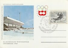 1964 Austria card - 9th Winter Olympic Games Innsbruck - Press Centre