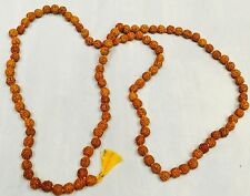 Nepalese Prayer Beads Buddhist Mala Bead Indian 108 Rudraksh Seed Meditation Jap