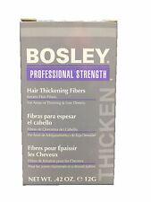 Bosley Professional Strength Hair Thickening Fibers 12g/0.42 oz. Blond