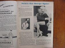 Oct 27-1956 Chicago Tribune TV Week Magaz(GEORGE GOBEL/DIANA DORS/NAT KING COLE)