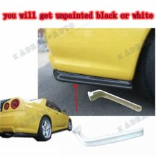 FRP FIBER GLASS NISMO STYLE EXTENSIONS FOR NISSAN SKYLINE R34 GTR OE REAR BUMPER