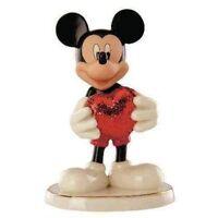 Disney Lenox Love Struck Mickey Mouse China Figurine New in BOX  15925