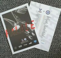 Crystal Palace v Chelsea RESTART Programme 7/7/20! READY TO DISPATCH!