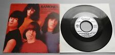 """Ramones - Do You Remember 1980 French Sire 7"""" Single P/S"""