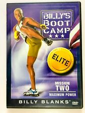 Billy Blanks - Billy'S Boot Camp: Mission Two - Maximum Power + Free S&H Usa +