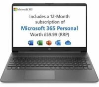 "HP 15s-eq1521sa 15.6"" Laptop - AMD A3020e, 128 GB SSD, Black - REFURBISHED"