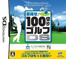 Used Nintendo DS 100 Kiri Golf DS Japan Import (Free Shipping)