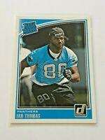 2018 Donruss Football Rated Rookie - Ian Thomas RC - Carolina Panthers