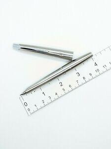 Vtg steel short PILOT murex Myu 701 fountain pen - f nib - nib needs work
