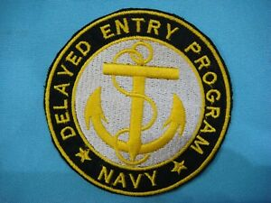 PATCH US NAVY DELAYED ENTRY PROGRAM