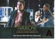 Arrow Season 2 Red Foil Parallel Base Card #25 The Person Who Did the Lifesaving
