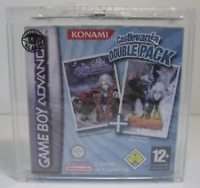 Castlevania Double Pack Game Boy Advance GBA nuevo & OVP + acrílico Box