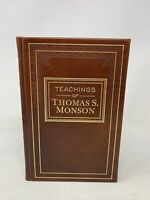 The Teachings of Thomas S. Monson 2014 LDS Mormon Leather, Employee Gift Book