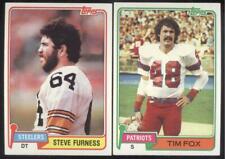 BUY 1, GET 1 FREE - 1981 TOPPS FOOTBALL - YOU PICK NUMBERS #401 - #528 - NMMT