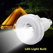 E27 USB Rechargeable White LED Emergency Flashlight Camping Lighting Bulb Lamp