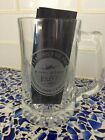 NEW VINTAGE Delta Air Lines Expo 1999 Clear Beer Coffee Tea Cocoa Mug Leading OO
