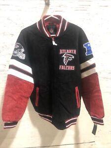 Atlanta Falcons Men's Medium Varsity Letterman Jacket Nfl GIII Authentic