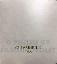 1988 Olds Advance Dealer Album Supreme Cutlass Toronado 88 98 Calais Ciera Etc