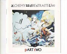 CD DIRE STRAITSalchemy live PART TWOGERMAN EX+  (B5554)