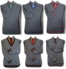 Vêtements gris en laine mélangée pour garçon de 2 à 16 ans