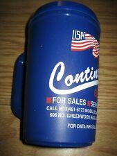 Alladin16 0z Insulated Blue Travel Mug Snap Lid Dishwasher Safe