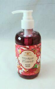Michel Design Works WINTER FLOWER Hand Soap Pump 8.3 oz 245 ml NEW NWOB