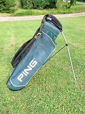 Ping Golf Bag stand walking light Weight Bag green 4 Way Divider hoofer