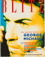 GEORGE MICHAEL Romeo Gigli JACKIE COLLINS Red Action BLITZ magazine  1980's
