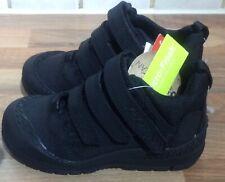 Kickers Boys' Trukka Mid Classic Boots UK Infant 8 Eu 25 Black Velcro Fasten