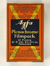 F01_082a Film 1 Box Agfa Plenachrome Filmpack exp. 1935