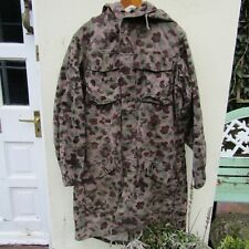 Postwar Austrian army pea camouflage parka large heavy coat jacket uniform