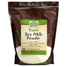 NOW FOODS® Organic Soy Milk Powder, 20 oz, Fresh,Free Shipping, Made in USA