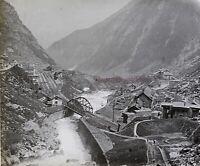 Suisse Reuss Foto PL53L7n4 Stereo Placca Lente 1908