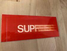 Supreme Red Motion Logo Sticker very rare 90s