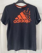 Adidas Black Tshirt Boys Age 13-14 Years