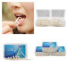 50~500pcs Cure Dent Soie Stick Fil 2 en 1 Propre Gum Oral Floss Dentaire Boîte