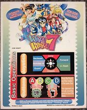 Waku Waku 7 Neo Geo Mini Arcade Marquee