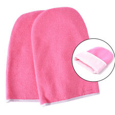 1pair Paraffin Wax Booties Protection Mitts Warmer Wax Heater SPA Hand Gloves