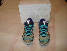 Nike Kobe IX EM Basketball Shoes, Size 10.5 (2013)--Purple/Silver-Magnesium