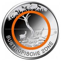 5 Euro Deutschland Subtropische Zone* G - Karlslruhe * Klimazonen der Erde 2018