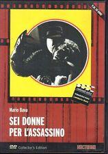 dvd SEI DONNE PER L'ASSASSINO Mario BAVA