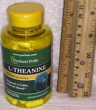 L-Theanine, from Puritan's Pride.  60 capsules, 100 mg each