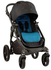 Baby Jogger City Premier Reversible Seat Single Stroller Black / Teal NEW 2016