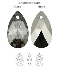 Genuine SWAROVSKI 6106 Pear Shape Crystal Teardrop Pendants * All Colors & Sizes