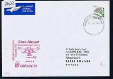 79032) AIR BERLIN FF Berlin - Basel Schweiz 24.2.2011, Brief ab Irland