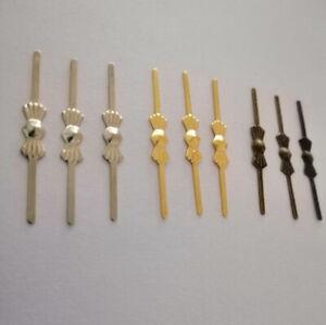 500Pcs 33mm Chrome/Golden/Bronze Butterfly Bowtie Pins Connectors Lamp Part DIY