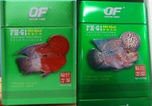 OF FH G1 Pro cichlid fish feed growth color faster accelerate head up flowerhorn